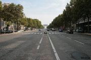 Avenue de la grande armée (vers l'arc)