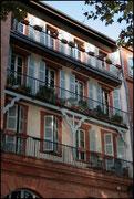 Façade le long de la Garonne