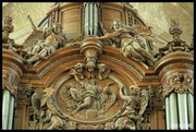 Détail du buffet d'orgue