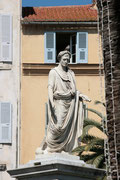 Ajaccio - Statue de Bonaparte