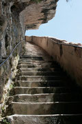 Bonifacio - Escalier du roi d'Aragon (187 marches)