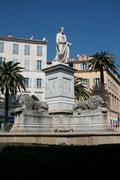 Ajaccio - Place Foch - Statue de Bonapart