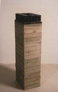 Denkmodel Nr.1 - Bronze - Beton - 200x39x34cm    Colektion B.A.T. Amsterdam