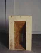 ohne Titel - Gips - Ton - Eisen - 53 x 63 x 98 cm Collection Stedelijk Museum Amsterdam