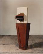 ohne Titel - Eisen - Beton - Gips - 162 x 45 x 45 cm