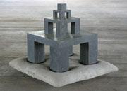 Denkmodel Nr. 7 - Bronze Beton - 63 x 63 x 53 cm