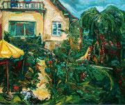NICHT MEHR ERHÄLTLICH, Im Garten, 75x90 cm, 2006
