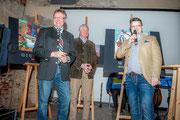 Garser Wein 2016, Bürgermeister Martin Falk, Weinpate Generaldirektor Hubert Schultes und Matthias Laurenz Gräff, Copyright Reinhard Podolsky