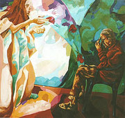 NICHT MEHR ERHÄLTLICH, Allegorie der Malerei, 150x160 cm, 2005