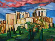 Die Akropolis von Athen, 80x60 cm, 2012 (oder 2013)/2014