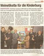 Matthias Laurenz Gräff. Pressebericht in der NÖN Horn (Woche 22) Copyright by Chris Leneis und Martin Kalchhauser