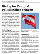 Vorankündigung Bezirksblätter Horn (Woche 36)