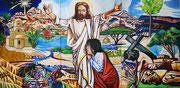 """Triptychon """"Jerusalem Triptychon"""", Öl auf Leinwand, 120x80 / 120x80 cm / 120x80 cm, 2016"""
