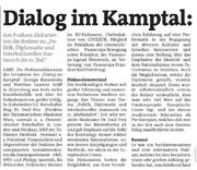 Bericht in den Bezirksblättern Horn (Woche 6)