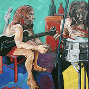 After Concert (Deep Purple), 100x100 cm, 2006