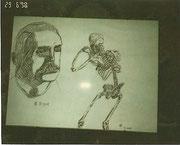 VERSCHOLLEN, Kugelschreiberzeichnungen Februar 1998 (13,5 Jahre)