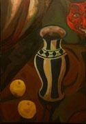 Mystisches Stillleben, 85x60 cm, 2004