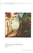 """Kunst-Adventkalender im Wiener Rathaus, Gemälde """"Allegorie der Malerei"""" von Matthias Laurenz Gräff"""