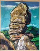 Kogelsteine bei Eggenburg, 100x80 cm, 2009