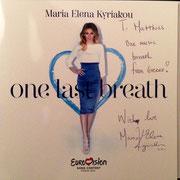 Widmung von Maria Elena Kyriakou für Matthias Laurenz Gräff