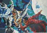 Weltensegler, 170x120 cm, 2006