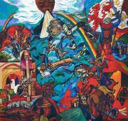 NICHT MEHR ERHÄLTLICH, De vaderen erf, 2008,150x160 cm