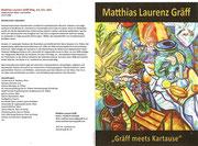 Matthias Laurenz Gräff. Einladung zur Vernissage