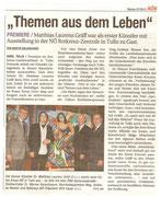 Artikel in der NÖN (Woche 7), Bezirk Horn
