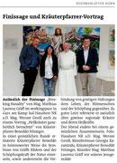 Pressebericht Bezirksblätter Horn (Woche 44)