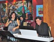 Loukia Agapiou und Aleksandar Pandilovski während des Konzertes