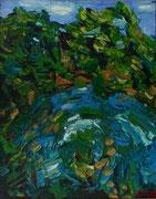 Waldviertler Weiher, 50x40 cm, 2009