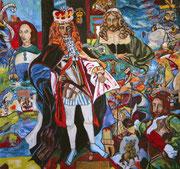 Morbide Zeiten, 2008, 150x160 cm