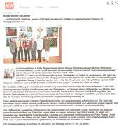 Ausstellungsbericht in der NÖN Zwettl (Woche 19) Copyright by NÖN Zwettl