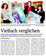 Bericht in der NÖN Horn (Woche 15), Martin Kalchhauser