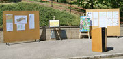Gemälde von Savio Verra und Matthias Laurenz Gräff für die Ortschronik