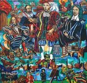 NICHT MEHR ERHÄLTLICH, De gouden eeuw, 2008, 150x160 cm