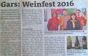 Pressebericht Bezirksblätter Horn (Woche 15)
