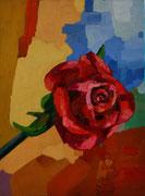 """""""2. Rose"""", 40x30 cm, 2005"""