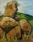 Grafenberger Kogelsteine, 100x80 cm, 2009