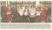 Bericht in der NÖN Horn (Woche 16) Copyright by Gerhard Baumrucker, Gräff dritter von links