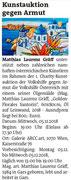 Vorankündigung in den Bezirksblättern Horn (Woche 48