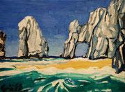 """NICHT MEHR ERHÄLTLICH,  """"Meeresstimmung bei Zakynthos"""", Öl auf Leinwand, 30x40 cm, 2015"""