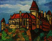 NICHT MEHR ERHÄLTLICH, Schloss Rosenburg, 40x50 cm, 2012