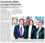 Bericht in der NÖN Horn (Woche 18), Martin Kalchhauser