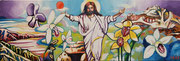 """""""Ostern"""", Öl auf Leinwand, 40x120 cm, 2020;  F. N. 113 - (2020: 10)"""