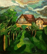 """NICHT MEHR ERHÄLTLICH, """"In der Nachbarschaft"""", 90x80 cm, 2005"""