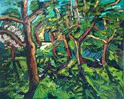 """Garten Expressiv"", 80x100 cm, Mai 2008"