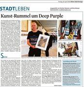 Pressebericht über die Veranstaltung/Ausstellung im Kölner Stadt-Anzeiger