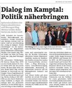 Artikel in den Bezirksblättern Horn (Woche 38)