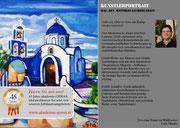 """Einladung """"Kunst im Waldviertel - Mag. art. Matthias Laurenz Gräff. Der Anreiz des Seins, Allegorie - Stillleben - Landschaft"""""""